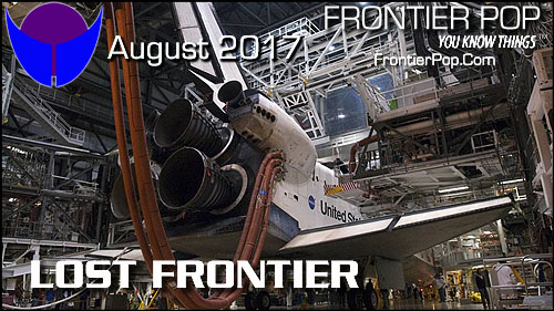 Days away..... Frontier Pop, Issue 104 for August 2017, Lost Frontier.