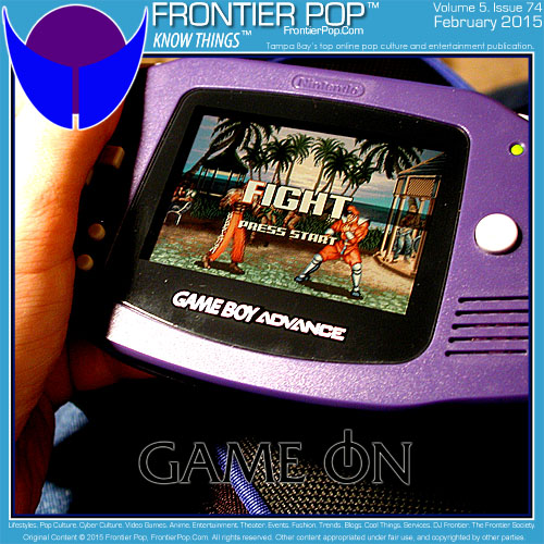 Frontier Pop issue 74 for February 2015: Game On.
