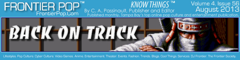 Frontier Pop Issue 56: Back On Track - C. A. Passinault